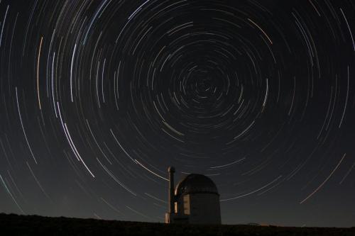 CIRCULAR STAR TRAILS